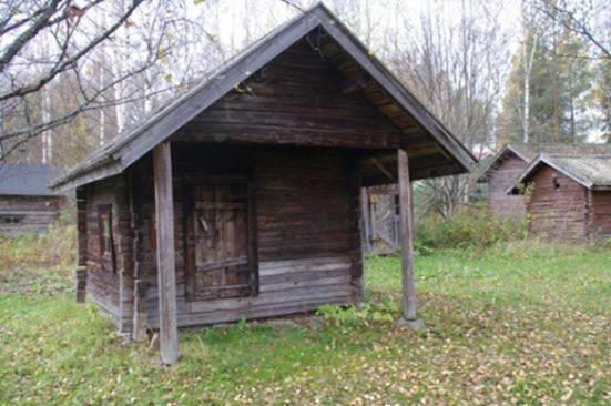 Ensimmäisiä siirrettäviä saunoja