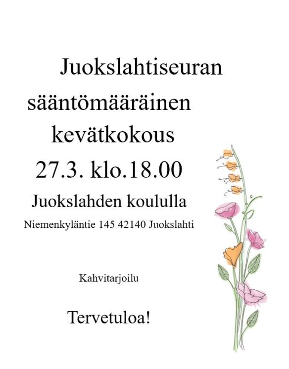 kolmas kevätkokous